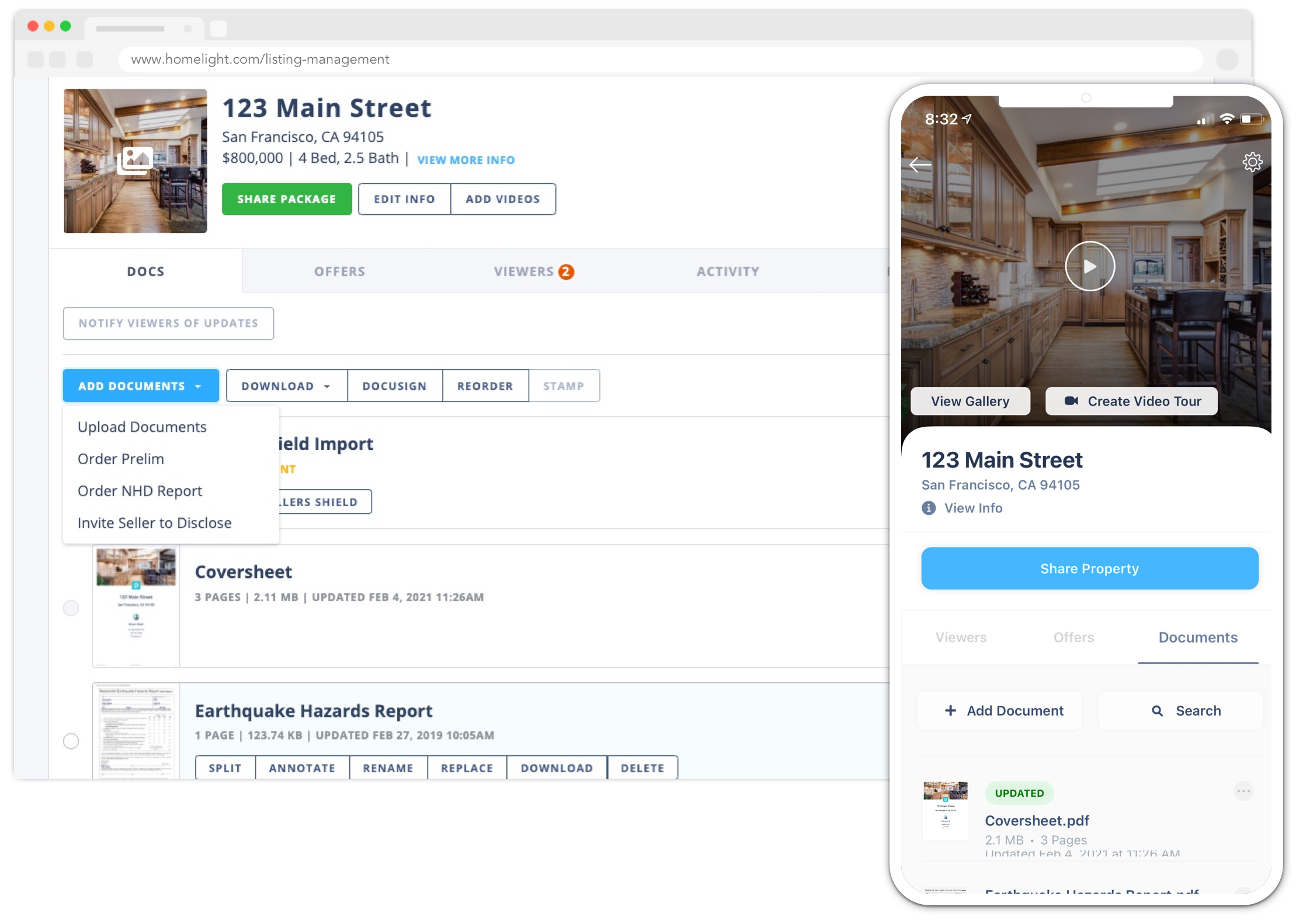HomeLight Listing Management (HLM)